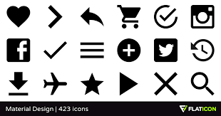 design icons material design 420 free icons svg eps psd png files