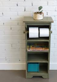 handmade bathroom storage tower shelves in color of your choice