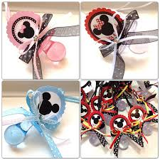 baby shower pacifiers 12 minnie and mickey mouse pacifiers for baby shower set 12