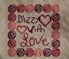 dizzy with cross stitch pattern lulabelle handicrafts