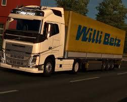 new volvo truck 2015 new volvo fh u0026 fh16 2012 v1 0 trucks euro truck simulator 2 mods