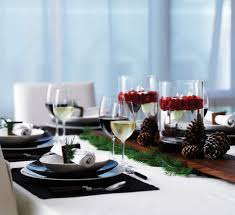 Christmas Table Decor by Altogether Christmas Decorating Dining And Tabletop Christmas