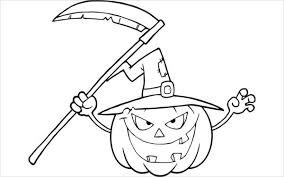 9 pumpkin coloring pages jpg ai illustrator download free