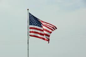 Flag Hoist Signaling American Flag Minnesota Prairie Roots