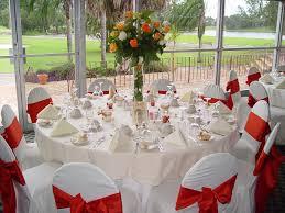 pretty wedding decoration ideas design with a single flower tied