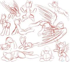 22 best mlp body poses images on pinterest drawing ideas