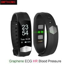 blood pressure bracelet iphone images Cd01 graphene ecg heartrate blood pressure smart bracelet for jpg