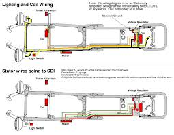 really simplified wiring diagram banshee repairs and mods