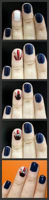 simple step by step thanksgiving nail tutorials for beginners