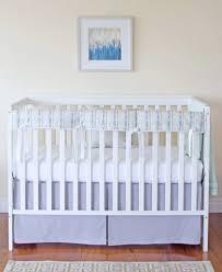Blue Nursery Bedding Sets by Unisex Baby Bedding I Gender Neutral Crib Bedding Elizabeth