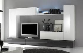 Wohnzimmerverbau Modern Stunning Wohnzimmer Hochglanz Grau Ideas House Design Ideas