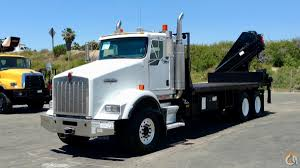 kenworth trucks for sale in california xs 288 ep 3 hipro mounted to 2004 kenworth t800 flatbed crane for