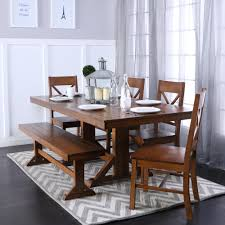 walker edison furniture company millwright 6 piece antique brown walker edison furniture company millwright 6 piece antique brown dining set