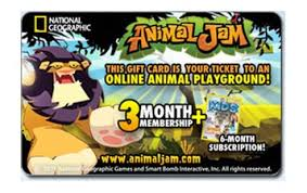 animaljam gift card animal jam at gift card gallery by eagle