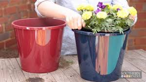 Southern Patio Drop In Self Watering Planters Today U0027s Homeowner