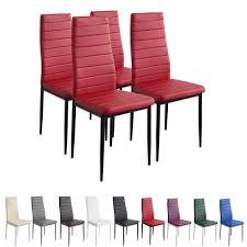 Esszimmerstuhl In Rot Esszimmerstühle Milano Farbe Und Stückzahl Wählbar Stühle