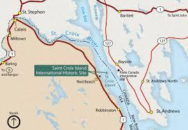 st croix caribbean map st croix island international historic site maine national park