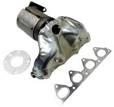 2000 honda civic exhaust manifold catalytic converter exhaust manifold honda civic 1 6 1996 1997