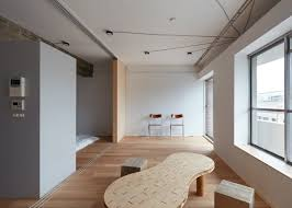 Frontofficetokyo Strips Small Apartment Down To A Single Room - Japanese apartment interior design