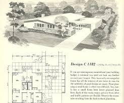 vintage home plans vintage house plans 1960s homes mid century modern