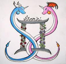 gemini dragon tattoos google search tattoos pinterest