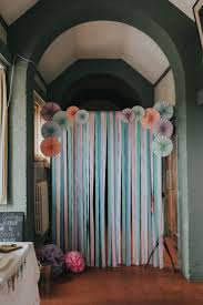 Background Decoration For Birthday Party At Home Amazing Party Streamer Decoration Ideas Design Decor Excellent