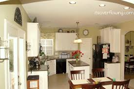Recessed Lights In Kitchen Kitchen Painting Cabinets U0026 Recessed Lights Our Two Story Its