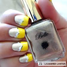 beauty and the beast nail art blog silver nail designs and