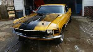 70 mustang fastback for sale ford mustang fastback 1970 gold for sale 0t05m130432 1970 mustang
