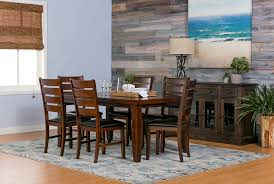 Brown Dining Room by Bradford Dining Table Living Spaces
