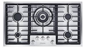Gas Cooktop 90cm Miele 90cm 5 Burner Low Profile Natural Gas Cooktop Stainless