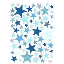 stickers étoile chambre bébé stickers enfant etoiles bleus vifs lilipinso stickers etoile chambre
