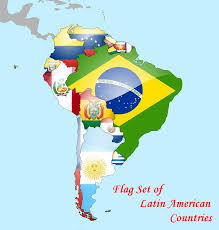 World Map Country Flags Latin American Flags 20 Latin American Country Flag Set From 20 00