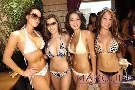 pool party scene 2013 high roller suites vegas