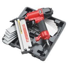 clarke compressor 18 gauge air nail stapler gun for fencing sheds