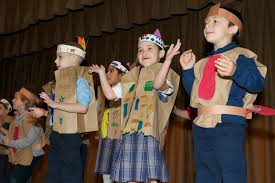 thanksgiving play kindergarten 1st gr bishop schad regional