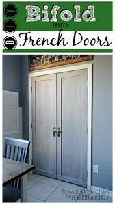 bi fold to faux shiplap french closet doors french closet doors