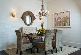 Dining Room Settee Interesting Kitchen Idea About Curved Settee For Dining
