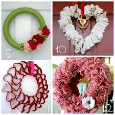 valentines wreaths 12 diy s wreaths blissfully domestic