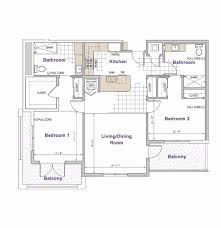 2 Bedroom Floor Plans by Floorplans Casa Aldea University City