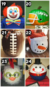 No Carve Pumpkin Decorating Ideas 40 Cool No Carve Pumpkin Decorating Ideas Pumpkin Decorating
