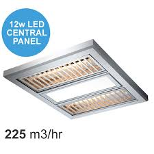 3 In 1 Bathroom Light Regent 3 In 1 Exhaust Fan By Ventair With Aluminium Grate Silver