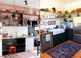 modern black kitchens gypsy yaya the modern bohemian black kitchen