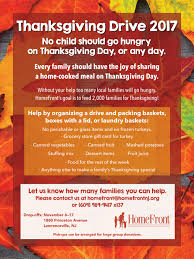 donate thanksgiving 2017 homefront nj