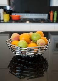 girard large stainless steel fruit bowl