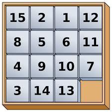 15 puzzle wikipedia