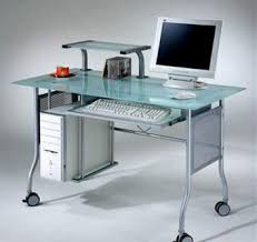 Buy Glass Computer Desk Glass Computer Table Looking Sharper Than Others Atzine