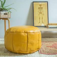 Mustard Yellow Ottoman Nuloom Moroccan Ottoman Intuitivewellness Co