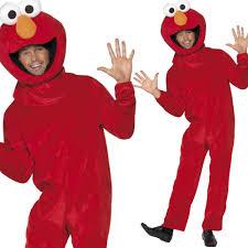 sesame street fancy dress costume elmo cookie monster big bird tv