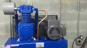 quincy qt 5 80 gallon 5 hp two stage air compressor youtube